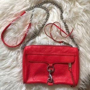 Rebecca Minkoff Red Shoulder Crossover Bag